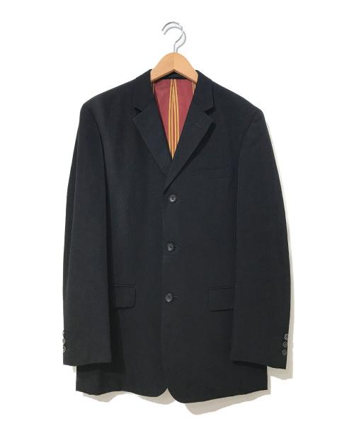 COMME des GARCONS HommePlus(コムデギャルソンオムプリュス)COMME des GARCONS HommePlus (コムデギャルソンオムプリュス) [OLD]ウールギャバ3Bジャケット ブラック サイズ:L AD2006・00'sアーカイブ・オールドギャルソンの古着・服飾アイテム