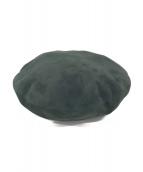kijima takayuki(キジマタカユキ)の古着「ベレー帽」|グリーン
