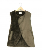 TROVE(トローブ)の古着「NOPOLA VEST」|オリーブ