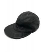 KILLSPENCER(キルスペンサー)の古着「Leather 5 Panel Hat」|ブラック