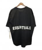 FOG ESSENTIALS(フィアオブゴッド エッセンシャル)の古着「メッシュカットソー」|ブラック