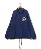 EXAMPLE(エグザンプル)の古着「アーチロゴコーチジャケット」 ネイビー
