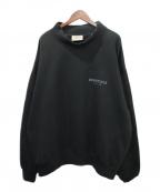 FOG ESSENTIALS(フィアオブゴッド エッセンシャル)の古着「モックネックスウェット」|ブラック