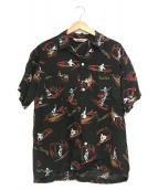 ()の古着「アロハシャツ」 ブラック