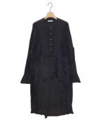 AKANE UTSUNOMIYA(アカネウツノミヤ)の古着「ニットドレス」 ブラック