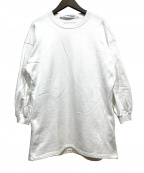 COGTHEBIGSMOKE(コグザビッグスモーク)の古着「パフスリーブドレス」|ホワイト