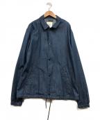 CLANE HOMME(クラネ オム)の古着「コーチジャケット」|インディゴ