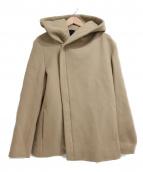 Junhashimoto(ジュンハシモト)の古着「WRAP HOODED COAT」|ベージュ