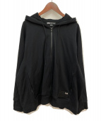 ()の古着「STACKED BADGE FULL-ZIP HOODIE」|ブラック