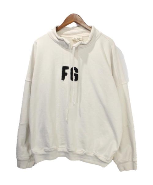 Fear Of God(フィア・オブ・ゴッド)Fear Of God (フィア・オブ・ゴッド) Mock Neck アイボリー サイズ:XLの古着・服飾アイテム