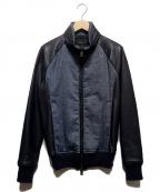 AKM(エーケーエム)の古着「STAND TRACKジャケット」 ネイビー×インディゴ