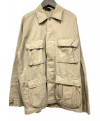 ROTHCO(ロスコ)の古着「ミリタリーシャツジャケット」|ベージュ
