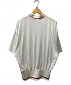 NEON SIGN(ネオンサイン)の古着「ハイネックカットソー」|ホワイト