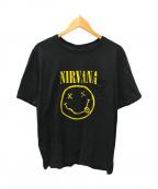 NUMBER (N)INE(ナンバーナイン)の古着「NIRVANAプリントTシャツ」 ブラック