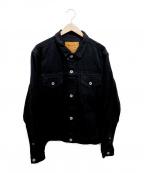 whiz limited(ウィズリミテッド)の古着「デニムジャケット」 ブラック