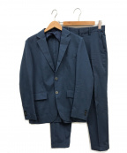 EDIFICE(エディフィス)の古着「メランジトロピカル2ボタンセットアップ」|ブルー