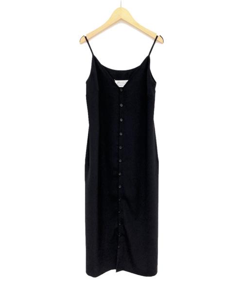 Maison Margiela(メゾンマルジェラ)Maison Margiela (メゾンマルジェラ) スリップドレス ブラック サイズ:38の古着・服飾アイテム