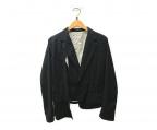 Ys(ワイズ)の古着「テーラードジャケット」|ブラック