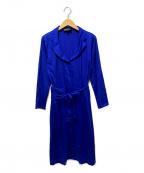 agnes b(アニエスベー)の古着「シャツワンピース」|ブルー