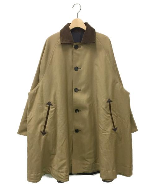 ticca(ティッカ)ticca (ティッカ) リバーシブルステンカラーショートコート サイズ:Fの古着・服飾アイテム