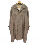 Maison Margiela(メゾンマルジェラ)の古着「20SS オーバーサイズチェックコート」