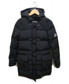 ()の古着「ダッフルダウンコート」|ブラック