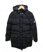 CAPE HEIGHTS(ケープハイツ)の古着「ダッフルダウンコート」|ブラック