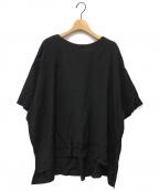 SUZUKI TAKAYUKI(スズキタカユキ)の古着「pullover blouse」 ブラック