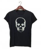 lucien pellat-finet(ルシアン・ペラフィネ)の古着「プリントTシャツ」|ブラック