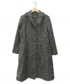 Leilian(レリアン)の古着「ツイードコート」 グレー