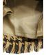 中古・古着 RAY BEAMS (レイ ビームス) チェックフリンジワイドパンツ キャメル サイズ:1:4800円