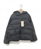 YACCO MARICARD(ヤッコマリカルド)の古着「フード付きダウンジャケット」|チャコールグレー