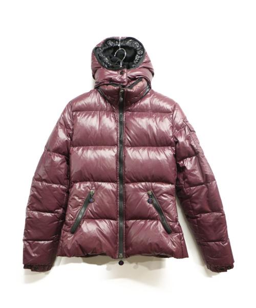 MONCLER(モンクレール)MONCLER (モンクレール) ダウンジャケット ワインレッド サイズ:1の古着・服飾アイテム