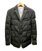 MONCLER GAMME BLEU(モンクレール ガム ブルー)の古着「GIACCAダウンテーラードジャケット」|ブラック