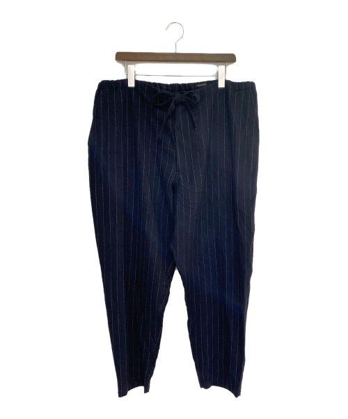 COMOLI(コモリ)COMOLI (コモリ) 強縮ウール テーパードパンツ ブラック サイズ:2の古着・服飾アイテム