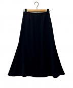 YORI(ヨリ)の古着「スカート」|ネイビー