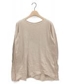 DEUXIEME CLASSE(ドゥーズィエム クラス)の古着「Layering Tシャツ」|ベージュ