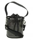 LeSportsac(レスポートサック)の古着「クリアバケットバッグ」