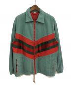 GUCCI()の古着「20SS シェリーラインデニムトラックジャケット」|グリーン