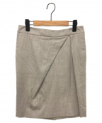 Fabiana Filippi(ファビアナフィリッピ)の古着「スカート」 ベージュ