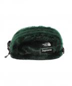 Supreme × THE NORTH FACE(シュプリーム × ザ ノースフェイス)の古着「20AW Faux Fur Waist Bag」|グリーン
