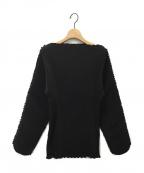 toteme(トーテム)の古着「プリーツブラウス」|ブラック