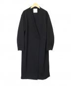 BOSCH(ボッシュ)の古着「ボンディングノーカラーコート」|ブラック