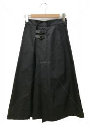 Droite lautreamont (ドロワットロートレアモン) CARREMANマソールイーズスカート ブラック サイズ:1