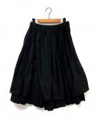 KAPITAL(キャピタル)の古着「German Code Aurora Apron Pants」|ブラック