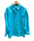 ebure(エブール)の古着「シャツ」 ライトブルー