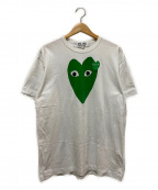 PLAY COMME des GARCONS()の古着「Tシャツ」|ホワイト