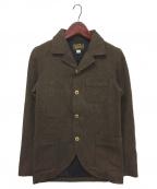 ORGUEIL(オルゲイユ)の古着「Old Surge Jacket」|ブラウン