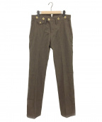 ORGUEIL(オルゲイユ)の古着「Old Surge Trousers」|ブラウン