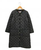 Traditional Weatherwear(トラディショナルウェザーウェア)の古着「キルティングコート」|ブラック
